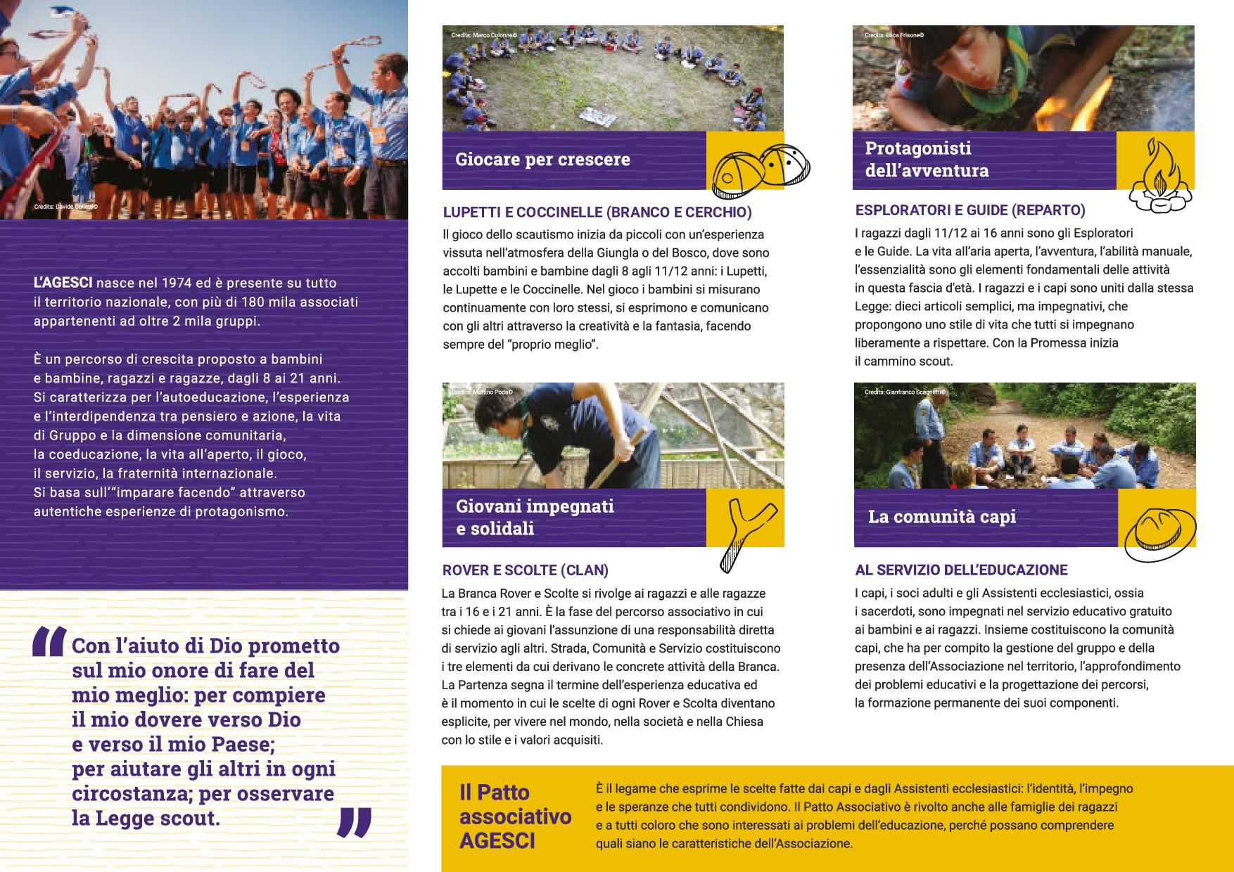 Brochure open day scout 20202